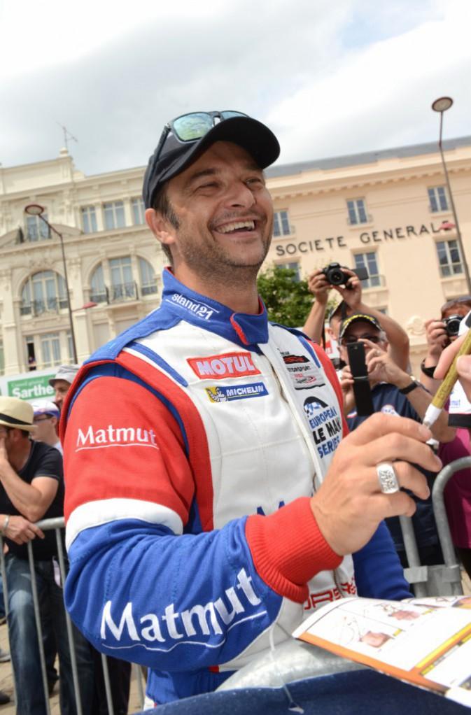 Photos : David Hallyday : le fils de Johnny participe à ses cinquièmes 24 Heures du Mans !