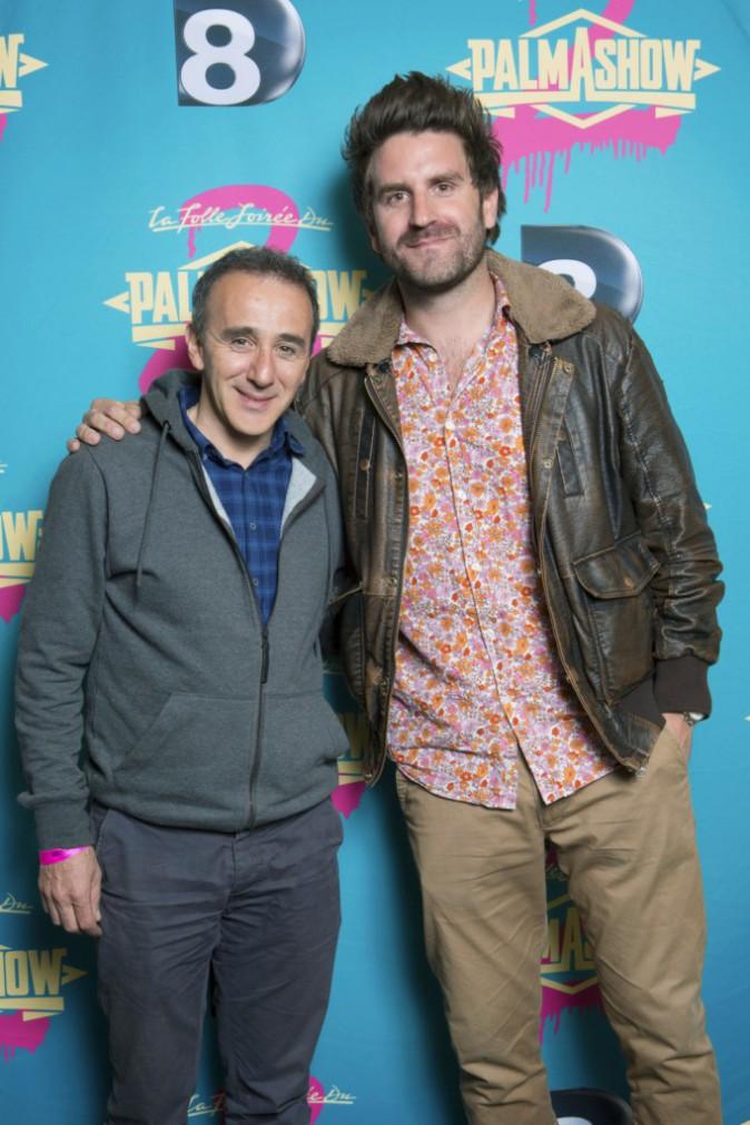 David Marsais & Grégoire Ludig : tous les humoristes se bousculent au Palmashow : Élie Semoun