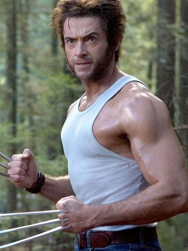 Hugh Jackman (Serval/Wolverine dans X-Men, X-Men 2, X-Men L'Affrontement final, X-Men Origins : Wolverine)
