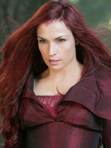 Famke Janssen (Jean Grey dans X-Men, X-Men 2, X-Men : L'Affrontement final)