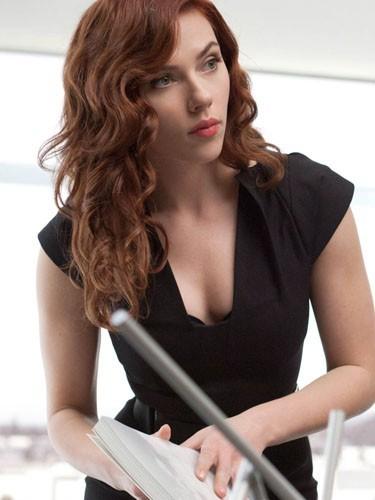 Scarlett Johansson (La Veuve Noire dans Iron Man 2)