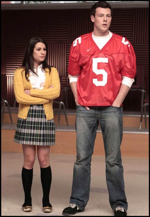 Cory Monteith dans Glee...