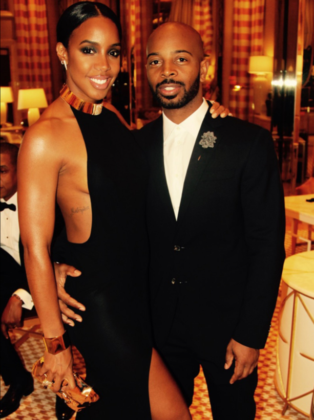 Kelly Rowland et Tim Witherspoon à Las Vegas