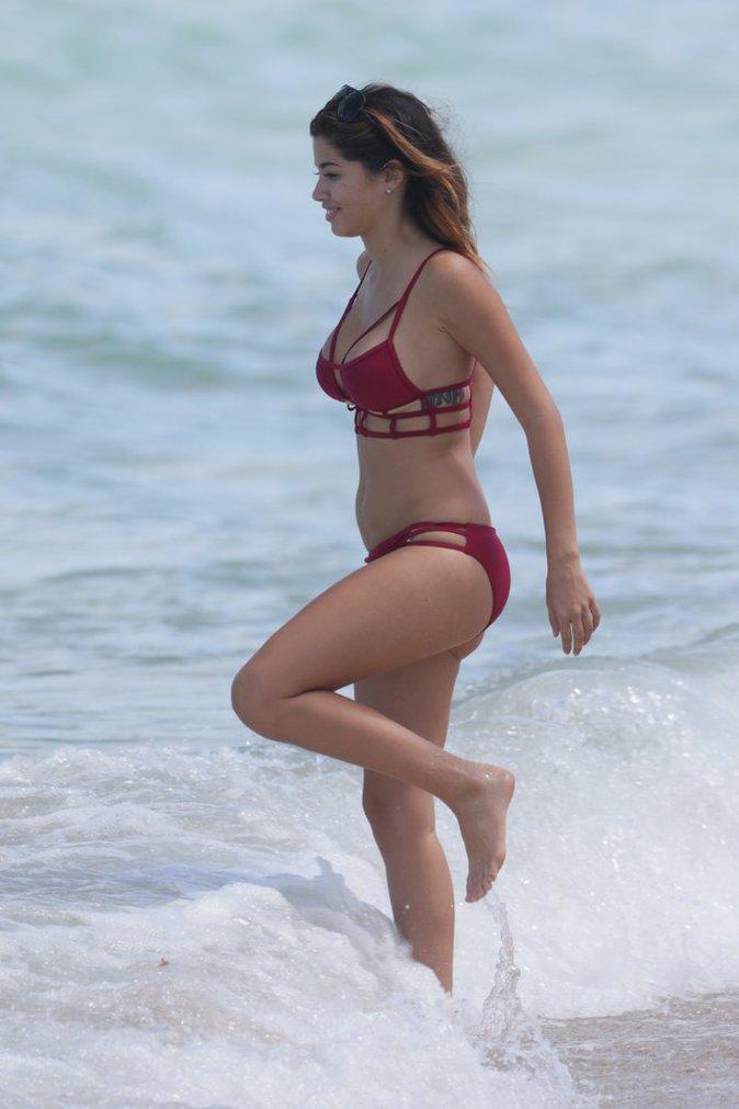Alexandra Rodriguez à Miami le 5 juillet 2016