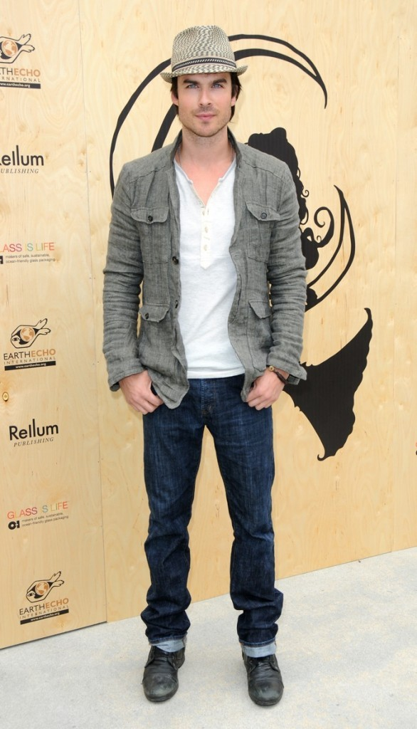 Ian Somerhalder : 2ème position !