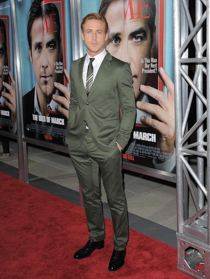 Ryan Gosling : 3ème position !