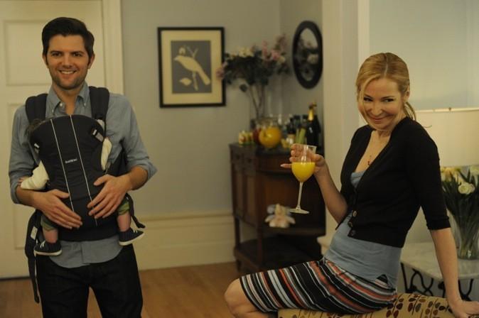 Jason Fryman & Julie jouent avec leur bébé !