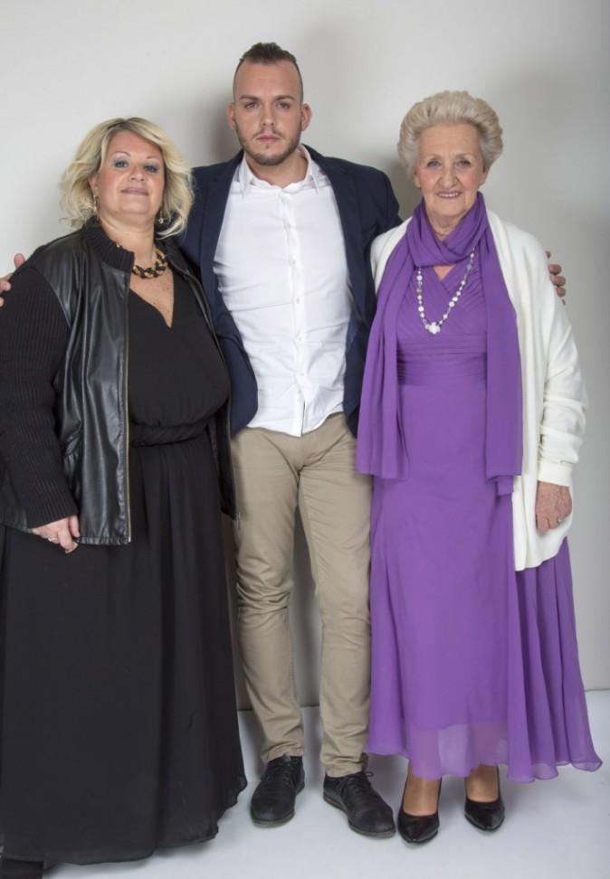Yvette, Michaël et Jeanine