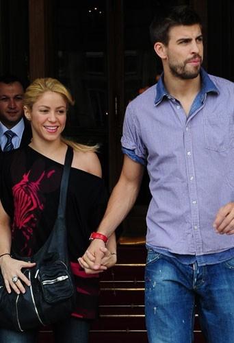 Shakira, folle amoureuse de son footballeur Gerard Piqué