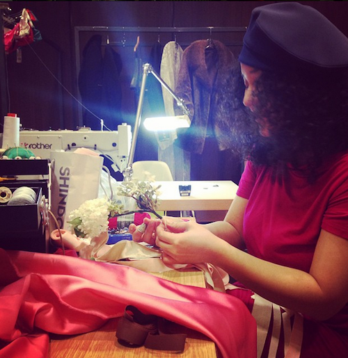 Photos : Défilé Etam 2015 : Natalia Vodianova, Snoop Doog… Derniers préparatifs avant le show !