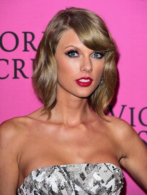 Taylor Swift avant le défilé Victoria's Secret 2014, le 2 décembre