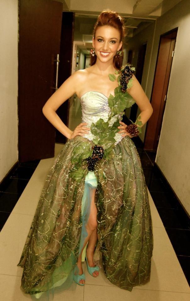 Avec sa robe