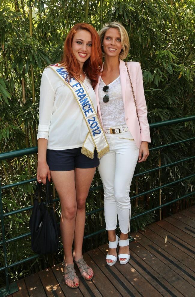 Avec son chaperon, Sylvie Tellier !