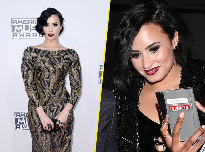 Photos : Demi Lovato : Beauté gothique sur le red carpet