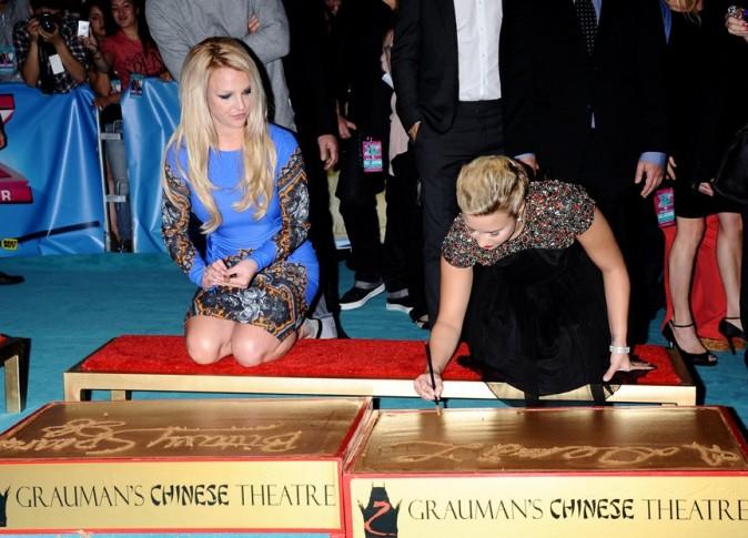 Demi Lovato au Grauman's Chinese Theater de Los Angeles le 11 septembre 2012