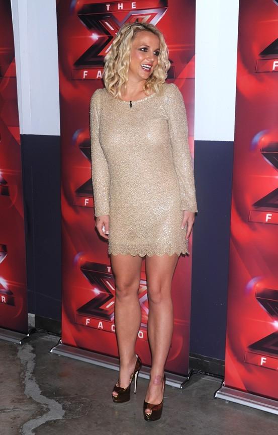 Britney Spears pour les auditions d'X Factor à San Francisco le 16 juin 2012