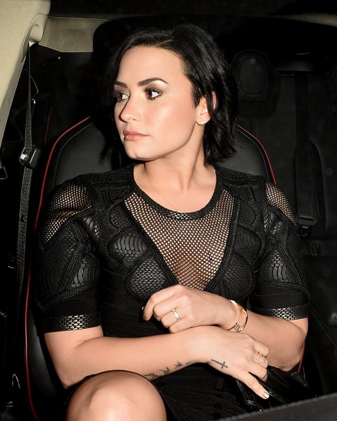 Demi Lovato le 20 janvier 2015