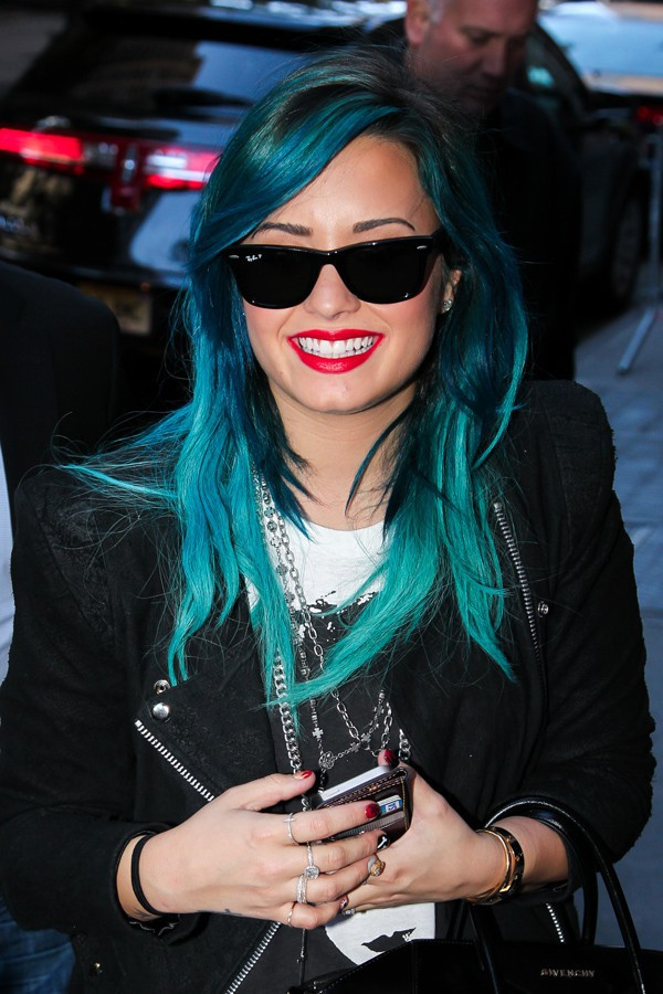 Demi Lovato à New-York le 24 octobre 2013