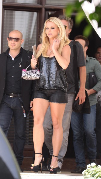 Britney Spears à Miami, le 26 juillet 2012.