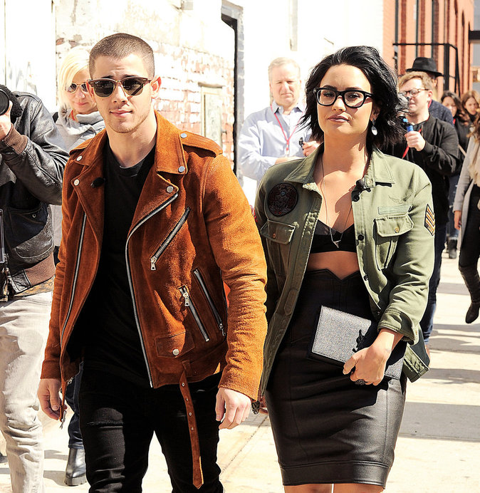 Demi Lovato et Nick Jonas : sortie entre BFF's à New York !