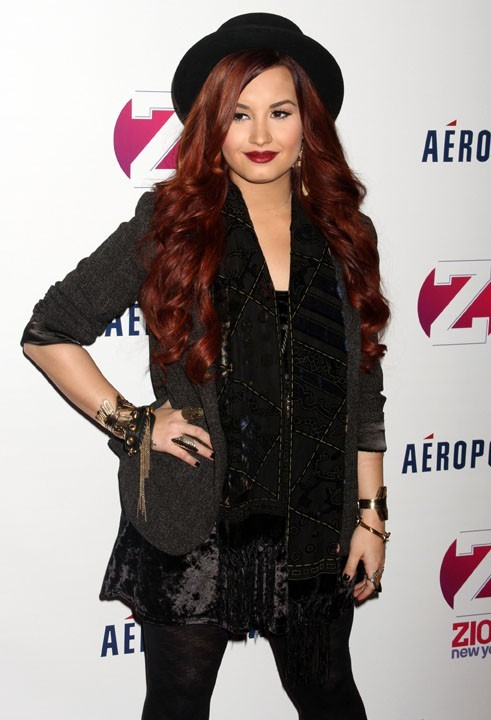 Demi Lovato hier au Z100 Jingle Ball hier !