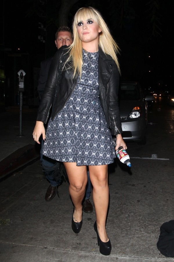 Demi Lovato à Los Angeles le 8 octobre 2012