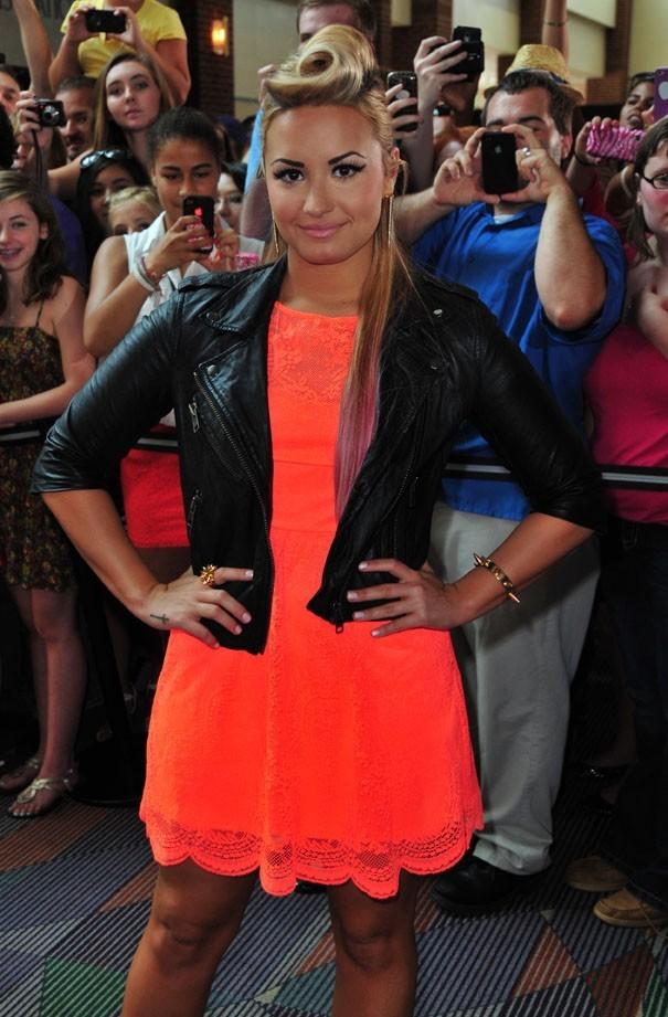 Demi Lovato aux auditions d' X Factor en Caroline du Nord le 8 juillet 2012