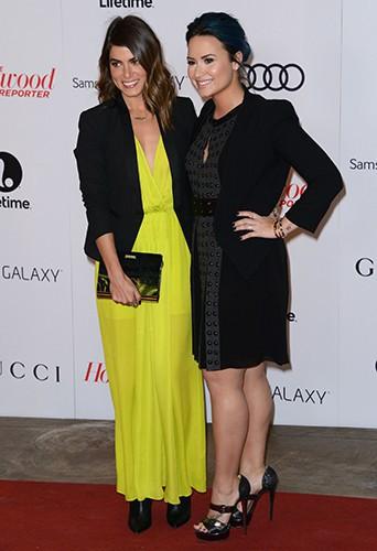 Nikki Reed et Demi Lovato à Los Angeles le 11 décembre 2013