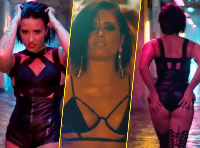 Demi Lovato se lâche dans son nouveeau clip... Pas sûr que Cristina Cordula valide !