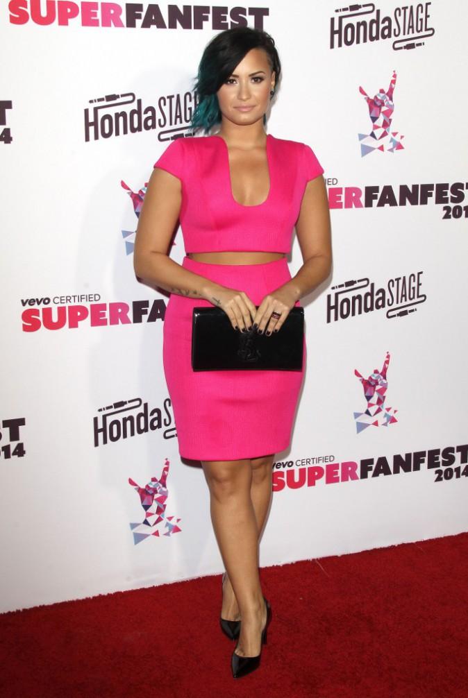 Demi Lovato le 8 octobre 2014