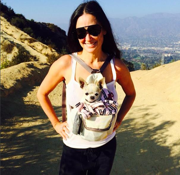 Demi Moore : 90 jours de sobriété pour Tallulah, ça se fête en montagne !