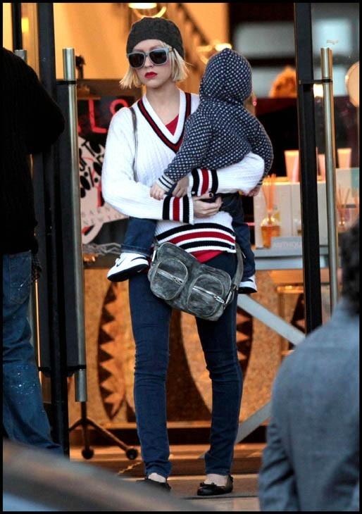Christina Aguilera quand elle était encore mariée à Jordan Bratman