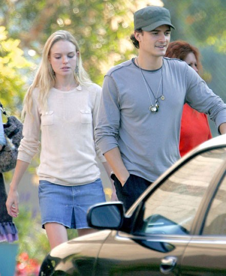 Kate Bosworth déjà fine à l'époque d'Orlando Bloom ...