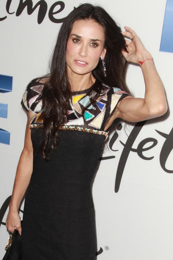 Demi Moore lors de la première du téléfilm Project Five à New York, le 26 septembre 2011.