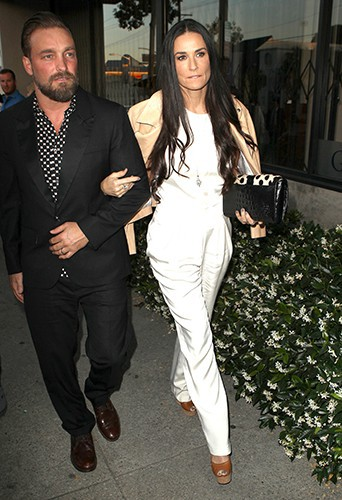 Demi Moore à Los Angeles le 16 mai 2014