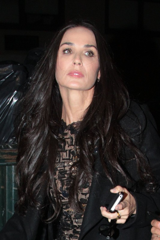 Demi Moore le 17 octobre 2012 à New York