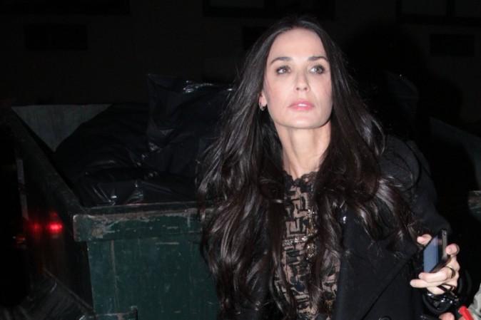 Demi Moore le 17 octobre 2012 à New York