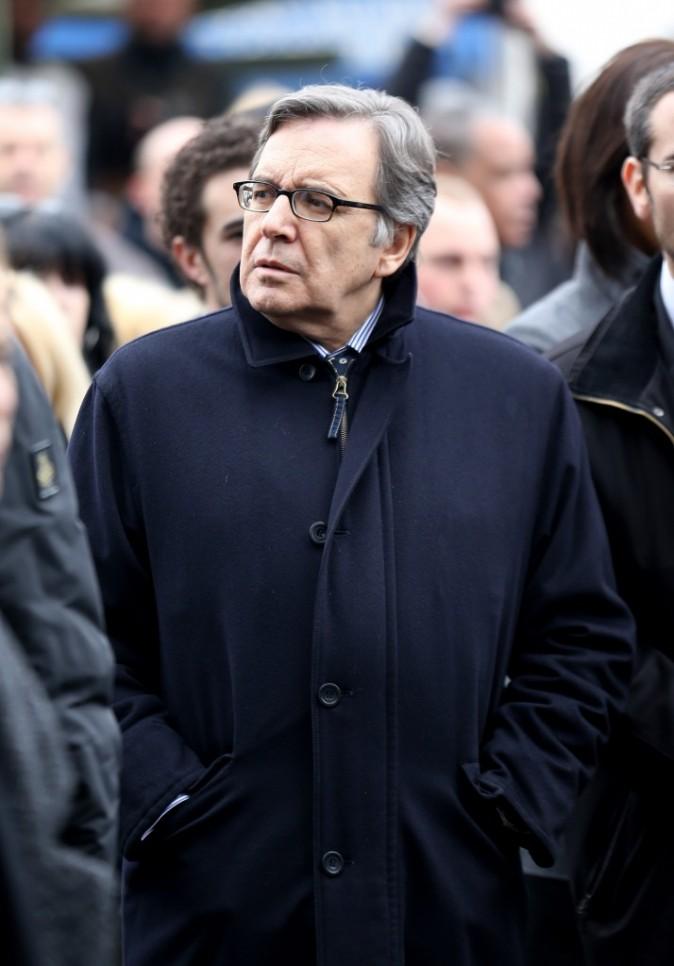 Nonce Paolini s'est rendu aux obsèques de Gérald Babin