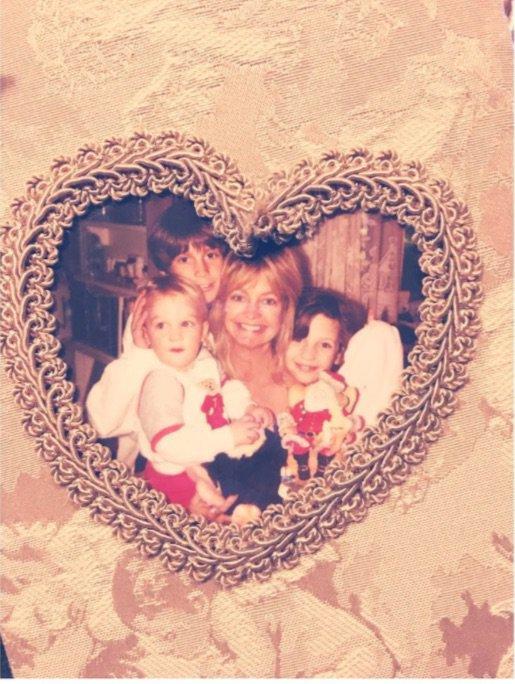 Kate Hudson et sa maman