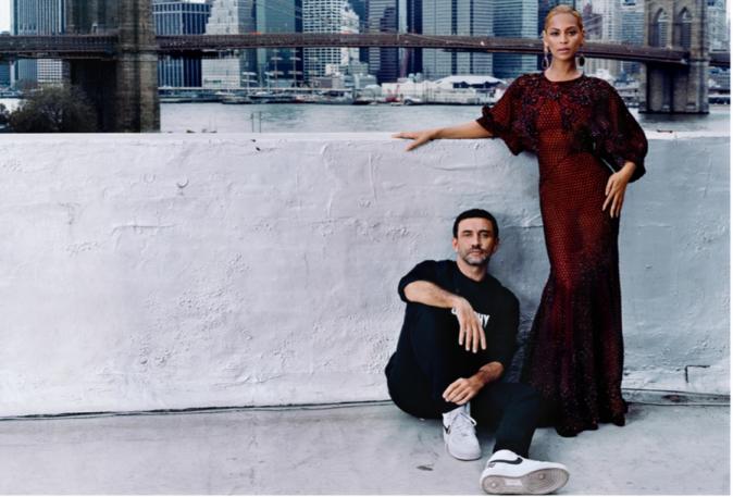 Beyoncé en backstage pour Vogue