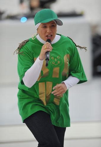 Diam's sur scène en 2010