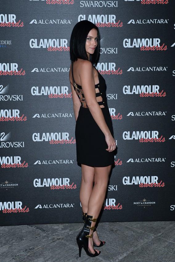 Leigh Lezark à la soirée des Glamour Awards organisée le 11 décembre 2014 à Milan