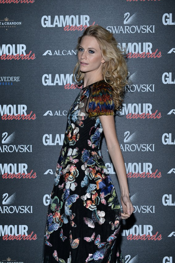 Poppy Delevingne à la soirée des Glamour Awards organisée le 11 décembre 2014 à Milan