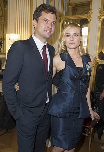 Diane Kruger et Joshua Jackson à Paris le 22 septembre 2014