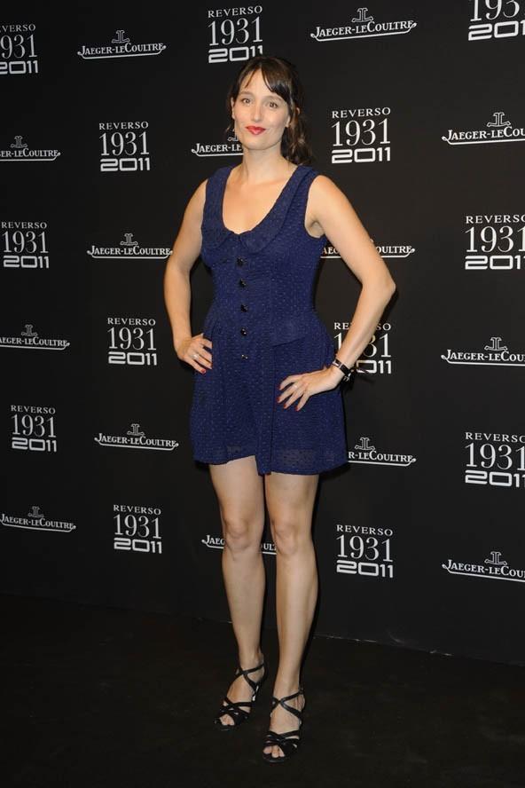Marie Gillain lors des 80 ans de la montre Reverso de l'horloger Jaeger-Lecoultre à Paris, le 28 juin 2011.