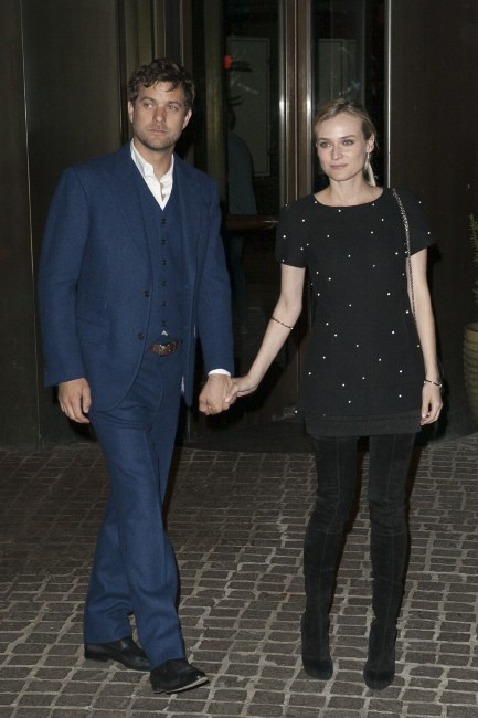 Diane Kruger et Joshua Jackson le 27 mars 2013 à New York