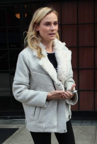 Diane Kruger le 27 mars 2013 à New York