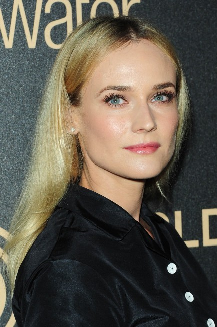 Diane Kruger lors de la soirée Miss Golden Globe 2013 à West Hollywood, le 29 novembre 2012.
