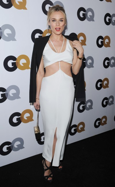 "Diane Kruger lors de la ""GQ Men of the Year Party 2012"" à Beverly Hills, le 13 novembre 2012."