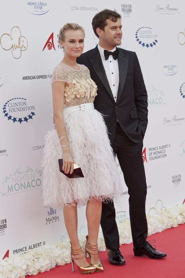 Diane Kruger et son chéri à Monaco le 23 mai 2012